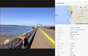 Google+ Photo With Location